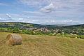 Pohled na Javorník a Velkou nad Veličkou od východu, okres Hodonín (02).jpg