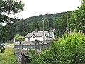 Pont Ganllwyd and the Plas Dolmelynllyn Lodge - geograph.org.uk - 488974.jpg