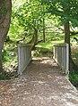 Pont droed dros Nant Ysgubornewydd - Footbridge over Nant Ysgubornewydd - geograph.org.uk - 1944542.jpg