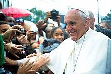 Pope Francis at Vargihna.