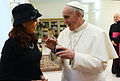 Pope Francis with Cristina Fernandez de Kirchner 4.jpg