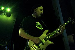 Porcupine Tree at State Theatre, Falls Church 2007 - Colin Edwin.jpg