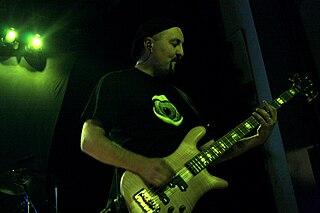 Colin Edwin Australian musician