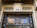 Porte d'immeuble boulevard du Montparnasse - détail 3.JPG