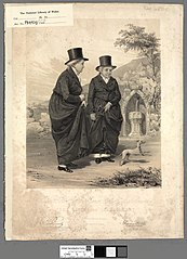 Rt. Honble. Lady Eleanor Butler & Miss Ponsonby 'The Ladies of Llangollen'