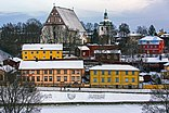 Old Town of Porvoo in January