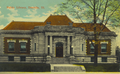 Postcard showing Carnegie Library in Danville, Illinois, USA circa 1920.png
