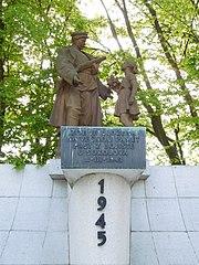 World War II Memorial at Chodov cemetery