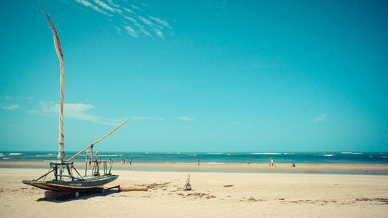 Piscinas naturais no Ceará