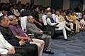 Pranab Mukherjee, the Prime Minister, Shri Narendra Modi, the Governor of Andhra Pradesh and Telangana, Shri E.S.L. Narasimhan, the Union Minister for Defence, Shri Manohar Parrikar and the Chief Minister of Andhra Pradesh.jpg