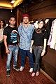 Prashant Shirsat, Salman Ahmed, Khushi at Khushiz store (3).jpg