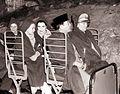 Predsednik Tito in Sukarno s soprogama v Postojnski jami 1960.jpg