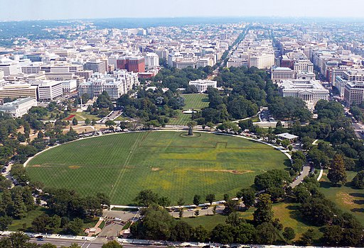President's Park with White House