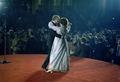 President Jimmy Carter and Rosalynn Carter dancing at Inaugural Ball. - NARA - 173398 (Restored).tif