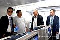 President Rodrigo Roa Duterte chats with Quezon City Fourth District Representative Feliciano Belmonte Jr. while on board Philippine Airlines chartered flight PR001 bound for New Delhi.jpg