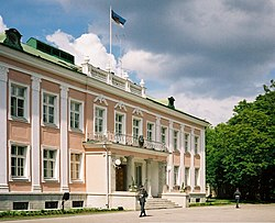 Presidential Palace in Tallinn, Estonia.jpg