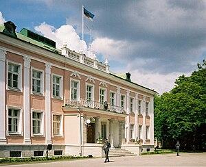 Kadriorg - Image: Presidential Palace in Tallinn, Estonia