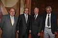 Presidents Pujol, Montilla i Maragall amb Jimmy Carter.jpg