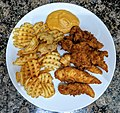 Preston Berman Fried Chicken and Waffle Fries.jpg
