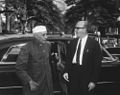 Prime Minister of India Jawaharlal Nehru Arrives at the White House.jpg