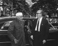 Prime Minister of India Jawaharlal Nehru Arrives at the White House.jpg