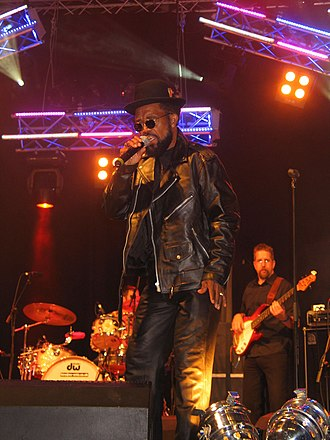 Rude boy - Prince Buster performing at the Cardiff Festival, Cardiff, UK