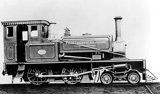 Prince Edward Island Railway - Typical of the narrow-gauge engines that served the PEIR, Engine Number 1 was a compact machine with a 4-4-0 layout. These engines proved unsuccessful in mainline use, having been designed primarily for switching and yard use.