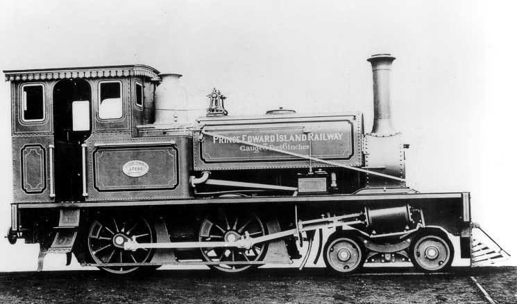 Prince Edward Island Railway Engine No. 1