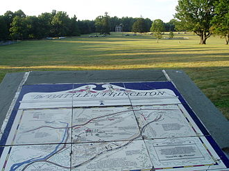 Princeton Battlefield - Image: Princeton Battleb