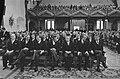 Prinsjesdag 1986 Kabinet in Ridderzaal, vlnr van Eekelen , Ruding, Deetman, va, Bestanddeelnr 933-7609.jpg