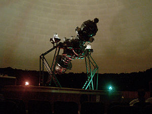 Zeiss projector - The Mark III modified projector installed in the Planetario Humboldt 1950 in Caracas - Venezuela.It is the oldest of Latin America.