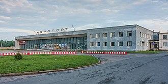 Pskov Airport - Image: Pskov asv 07 2018 airport img 1