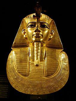 Psusennes I mask by Rafaèle
