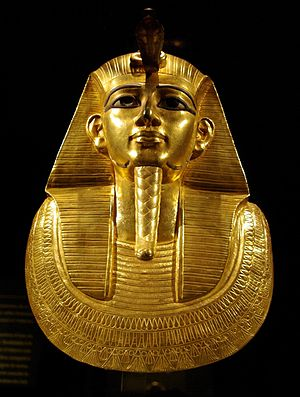 Pierre Montet - Psusennes I's mask: discovered at Tanis by Pierre Montet in 1940