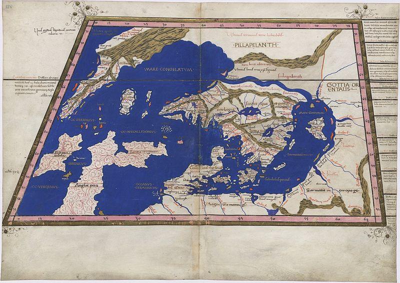 File:Ptolemy Cosmographia 1467 - Greenland + Scandinavia.jpg