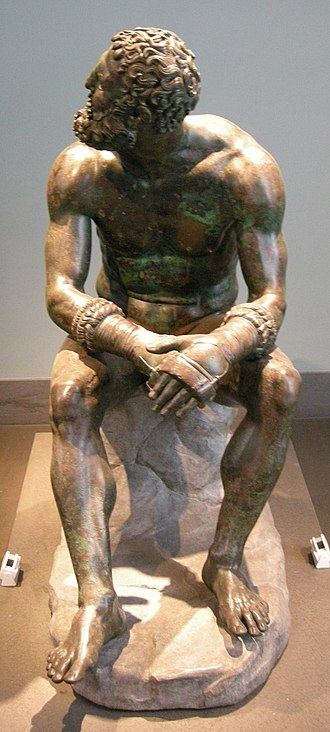 Boxer at Rest - Image: Pugile, I secolo ac., 01