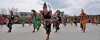 Teochew people - Yingge Dance.