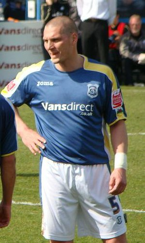 Darren Purse - Purse playing for Cardiff City in 2009