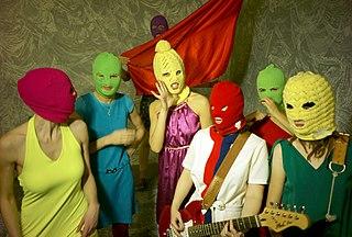 Pussy Riot by Igor Mukhin