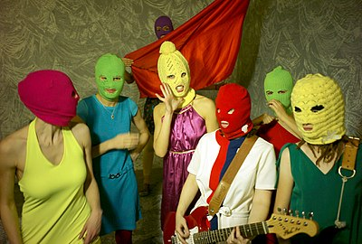 Picture of a band or musician: Pussy Riot