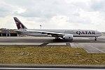 Qatar Airways, A7-BEQ, Boeing 777-3DZ ER (30516253938).jpg