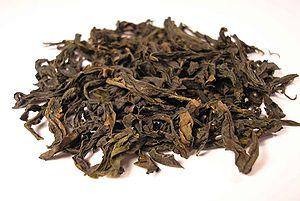 Oolong - Wuyi Qi Lan Oolong tea leaves