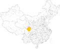 Qiang autonomous prefectures and counties in China.png