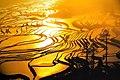 Qingkou Sunrise as I arrived on Feb 21, 2005.jpg
