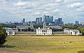 Queen's House, Old Royal Naval College and Canary Wharf skyline.jpg