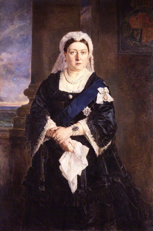 Queen Victoria by Julia Abercromby
