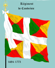 Image illustrative de l'article Régiment de Cambrésis (régiment de Saintonge)