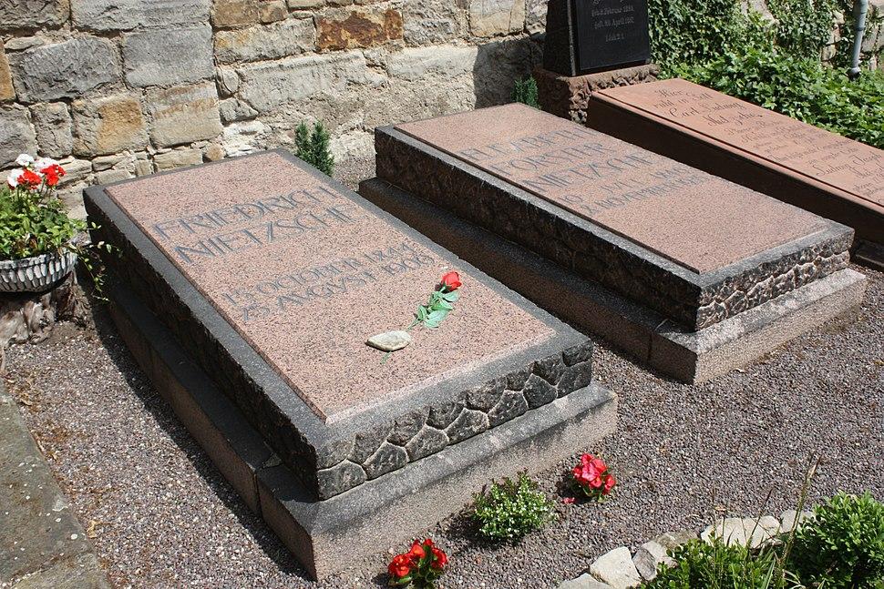 Röcken (Lützen), the grave of Friedrich Nietzsche