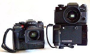 The Leica R4 (1980) introduced the shape of th...