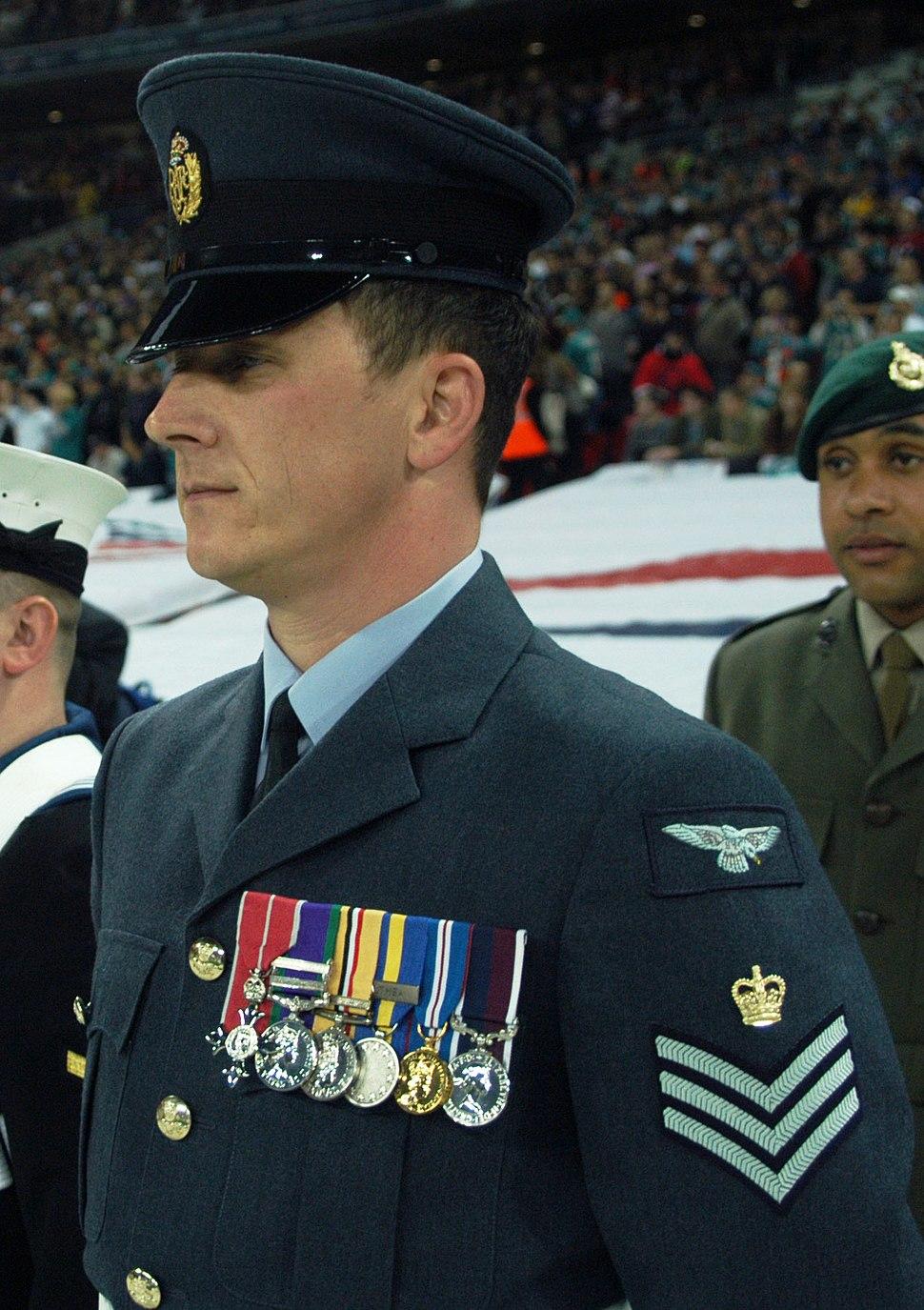 RAF Flight Sgt